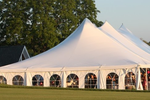 Tent From putting Green