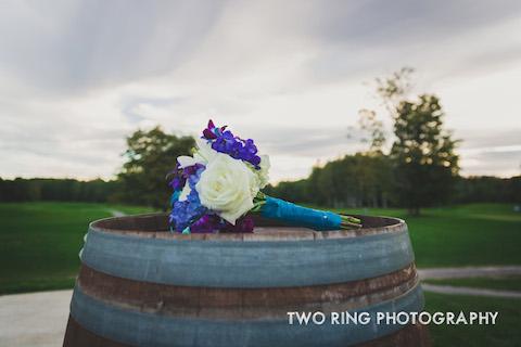 Flowers&WineBarrel