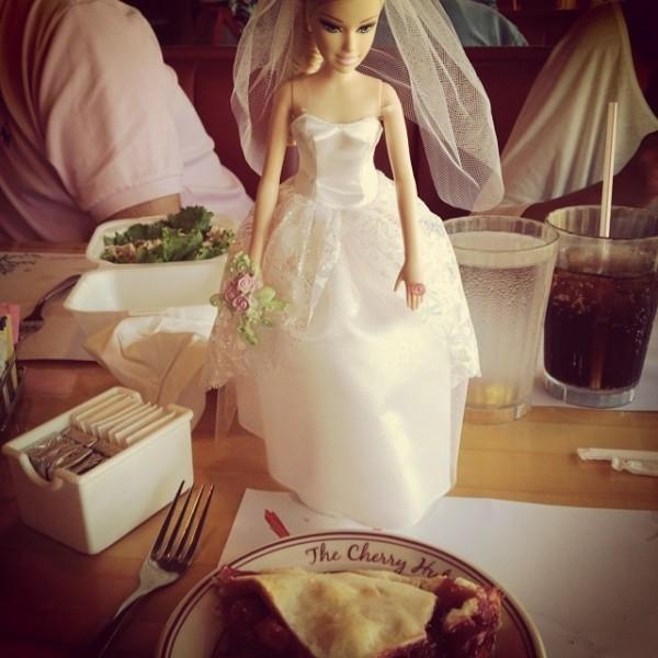 Katie Barbie Cherry Hut