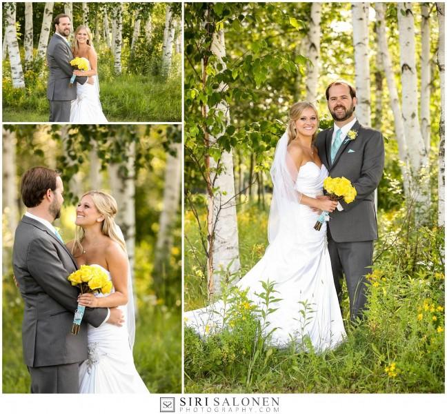 Katie and Adam Birch Trees