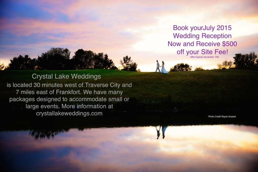 Crsytal Lake Weddings Sunset FB