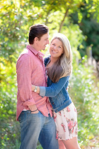 Couple in forest for Engagement | Rayan Anastor Photography | Traverse City Wedding Photographer